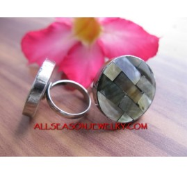 Small Rings Stainless Shells