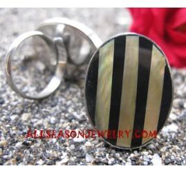 Stainless Rings Resin