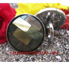 Stainless Seashell Ring
