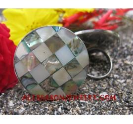 Stainless Steel Sea Shell Rings Women Jewelry Design