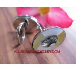 Rings Stainless Seashells