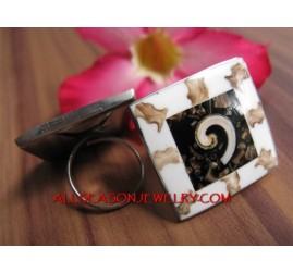 Women Fashion Stainless Ring Jewelry Design