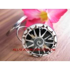 Fashion Finger Ring Stainless Steel Balinese Design
