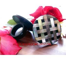 handmade rings shell bali