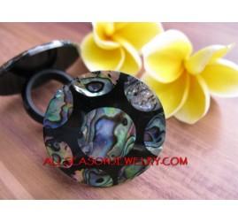 Sea Shells Ring Abalone