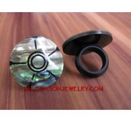 Abalone Shell Finger Rings