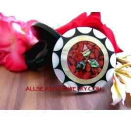 bali shell rings Mozaiq
