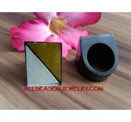 Handmade Ring Shell Resin