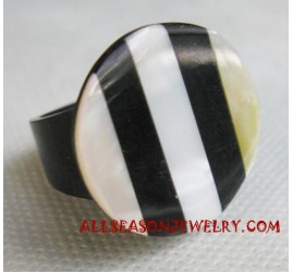 Finger Ring Shell Resin