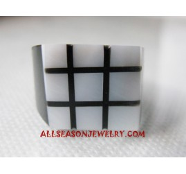 Handmade Ring Seashells