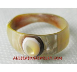Handmade Seashell Rings