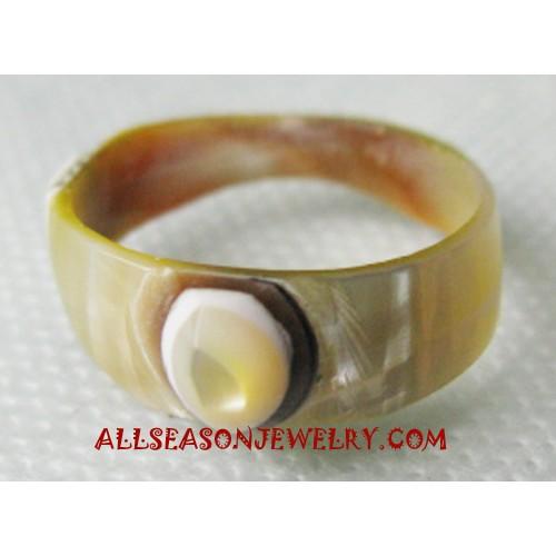 Handmade Seashell Rings
