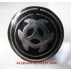 Metal Black Resin Ring