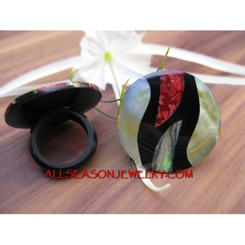 Ocean Seashells Rings Craft