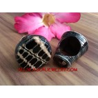 Hand Crafted Shells Rings Organic