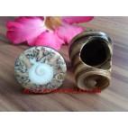 Women Fashion Organic Seashells Ring