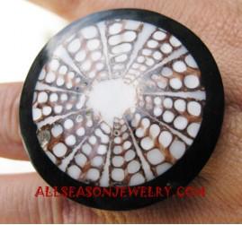 Resin Ring Seashell