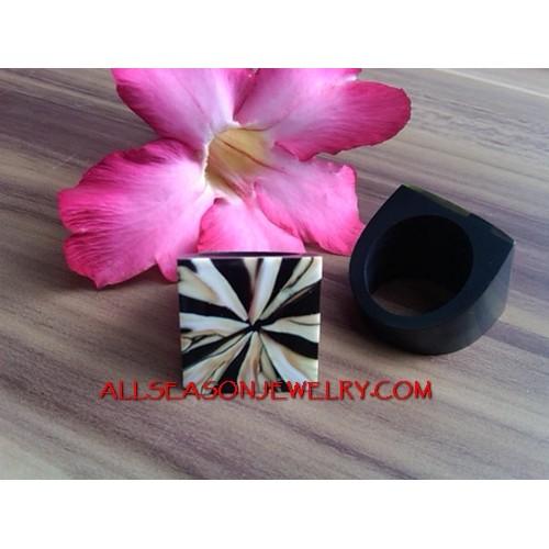 Resin Rings Shells Design
