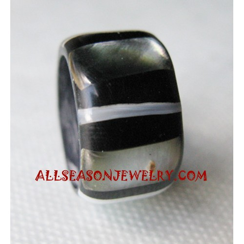 Resin Shell Finger Ring