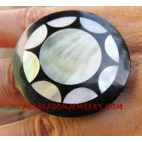 Resin Shell Rings Exotic