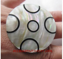 Ring Seashell Natural