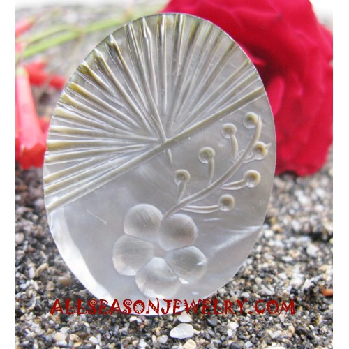 Ring Seashells Carving