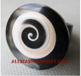 Rings Seashell Resin