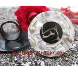 Seashell Resin Rings