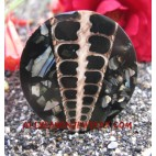 Shell Resin Rings Snakes