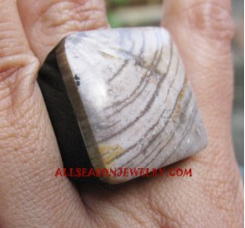 Nature Stone Rings