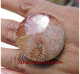 Exotic Rings Stone Women Fashion Bali Design