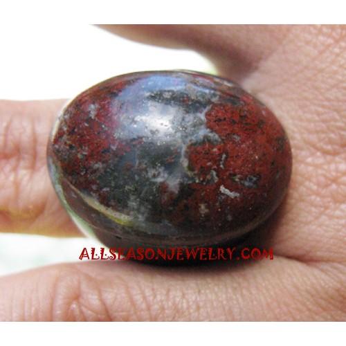 Bali Stone Ring Handmade