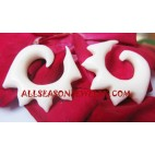 Fashion Earring Tribal Bone