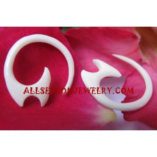 Women Bone Earring
