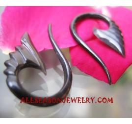 carving Earrings Horn