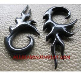 Carvings Tribal Earrings