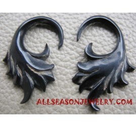 Earring Horn Carving