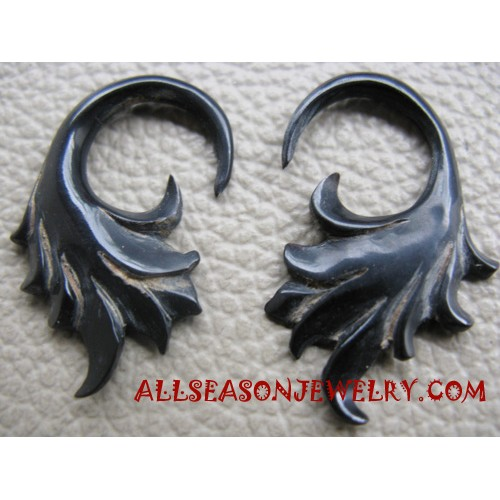 Earring Horn Carving