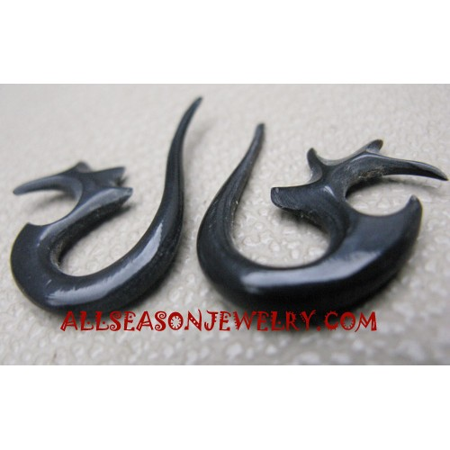Earrings Tribals Horn