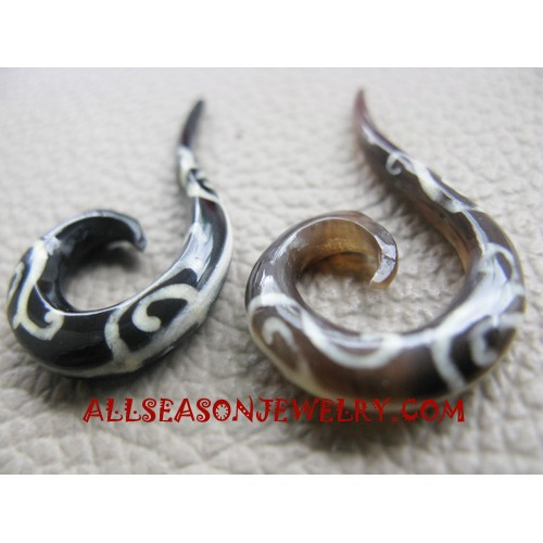Earrings Tribals Tattoo