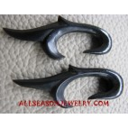 Handmade Earrings Horn