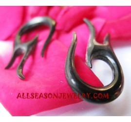 Horn Earring Carvings