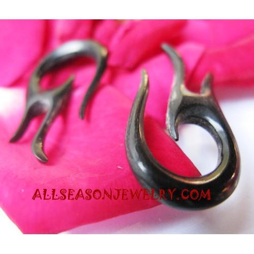 Horn Earring Carvings