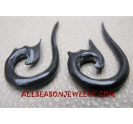 Horn Earring Handmade