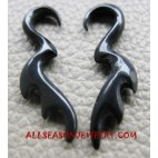 Piercing Horn Earring Tribal