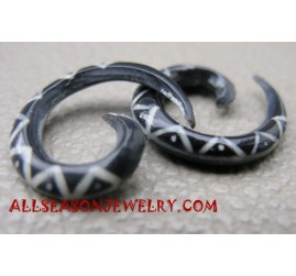Tattoo Tribals Earring