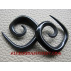Spiral Horn Fake Gauges