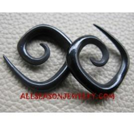 Spiral Horn Fake Gauges