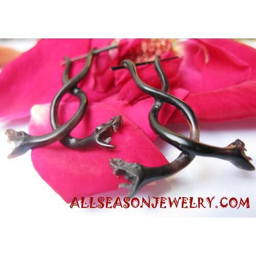 Women Horn Earring