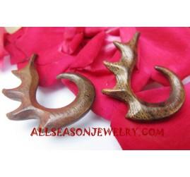 Carving Earring Tribal